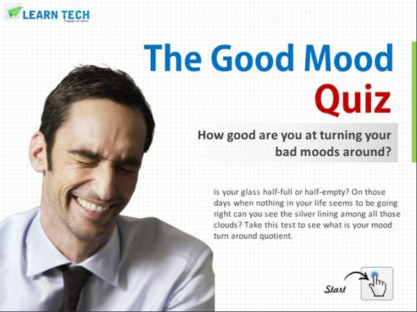 LearnTech – Digital Assessments - The Good Mood Quiz