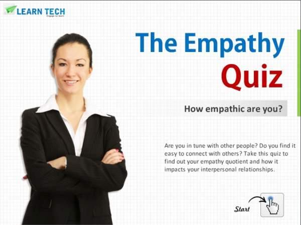 LearnTech – Digital Assessments - The Empathy Quiz