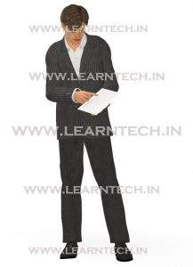 Character Pose – James | Online Store | LearnTech