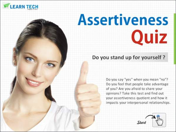 Assertiveness Quiz - self discovery inventory - Personality Tests