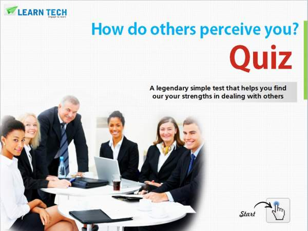 LearnTech – Digital Assessments - Quiz: How do others perceive you?