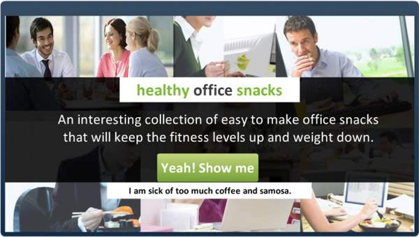 Learntech - Demo - Healthy Office Snacks | E-learning Examples | E learning demos