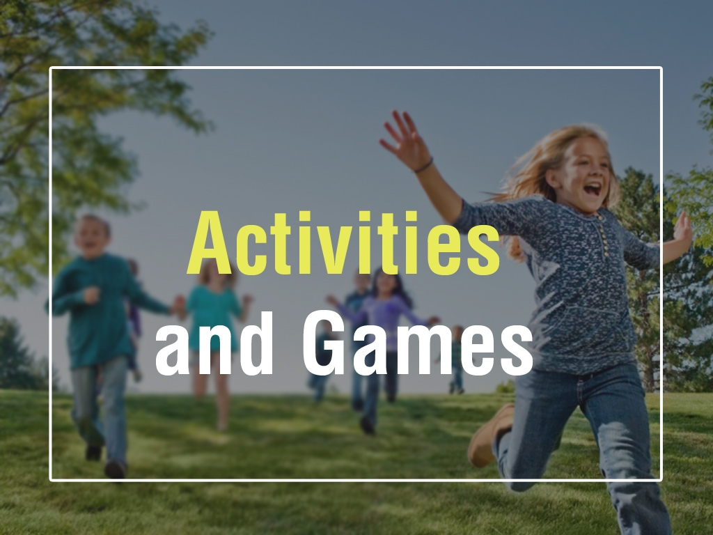 Activities and Games, E-learning Examples