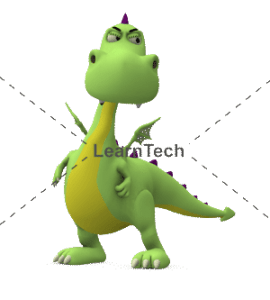 Character Poses – Dragon_Angry | Online Store | LearnTech