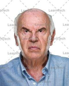 Real Emotives – Old Man_Angry | Online Store | LearnTech