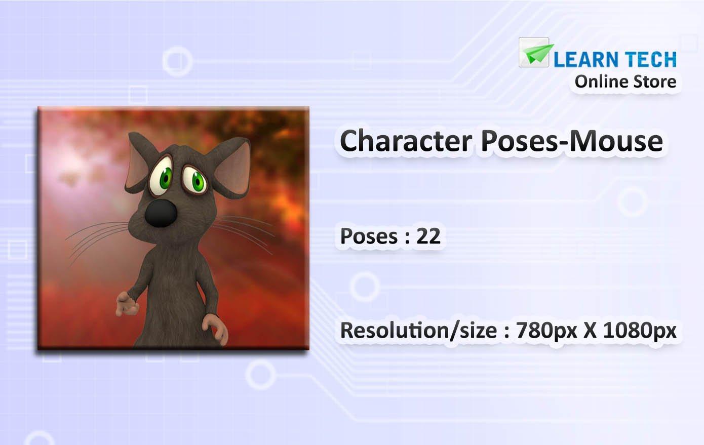 Character Poses for Training decks - E learning Development