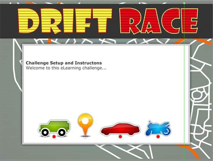 Drift Race - Training Games - online E learning Games