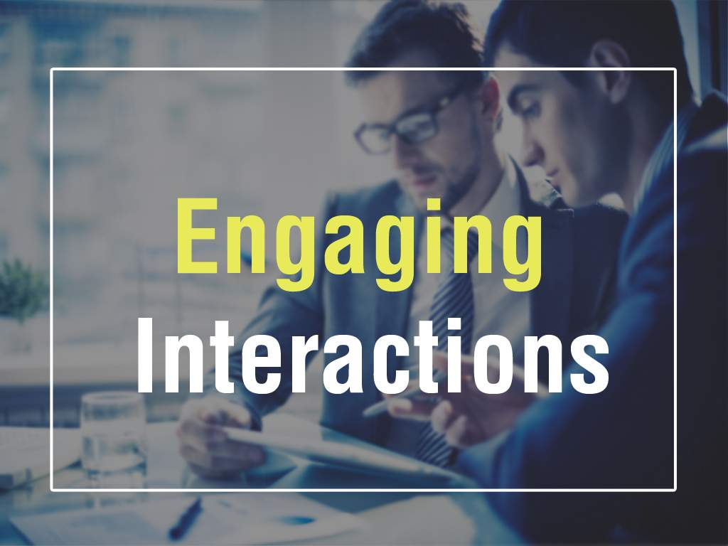 Engaging Interactions | E-Learning Development