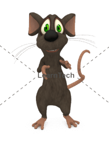 Character Poses – Mouse_Explain | Online Store | LearnTech