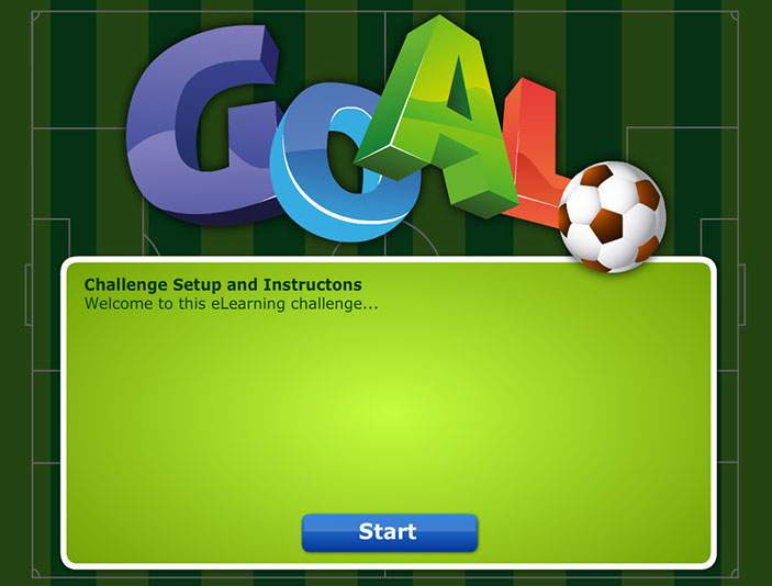 Goal Shootout Game - Training Games - online E learning Games
