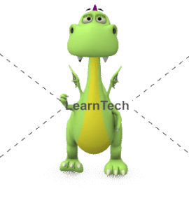 Character Poses – Dragon_Happy | Online Store | LearnTech