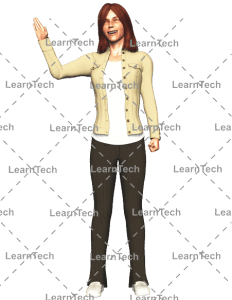 LearnTech - Character Poses – Alyson_Hi