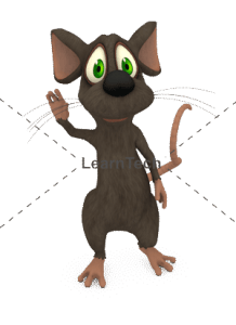 Character Poses – Mouse_Hi | Online Store | LearnTech