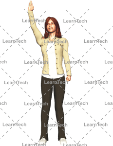 LearnTech - Character Poses – Alyson_Hi_up