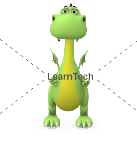 Character Poses – Dragon_Holding Front | Online Store | LearnTech