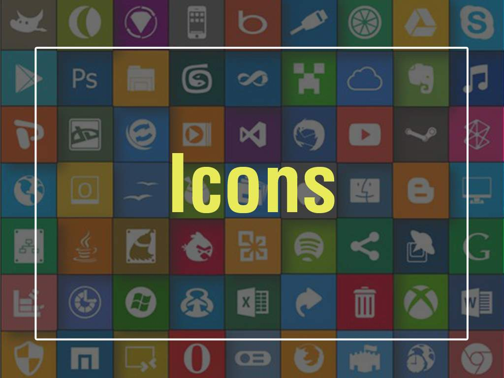Icons - Icons for training - E learning Development