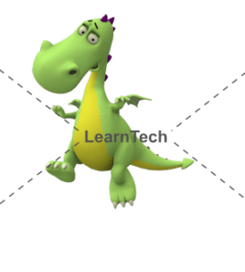Character Poses – Dragon_Jumping | Online Store | LearnTech