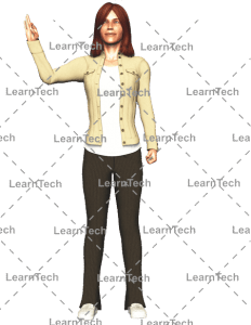 LearnTech - Character Poses – Alyson_Look Good