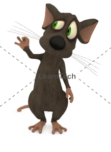 Character Poses – Mouse_Look Good | Online Store | LearnTech