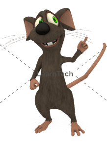 Character Poses – Mouse_Pointing Top | Online Store | LearnTech