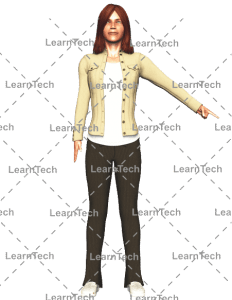 LearnTech - Character Poses – Alyson_Pointing_left_bottom