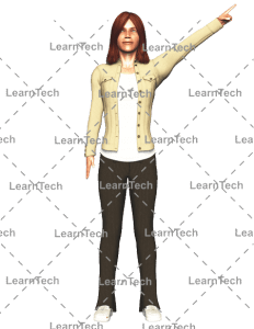 LearnTech - Character Poses – Alyson_Pointing_left_top