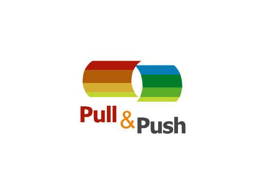 Pull and Push   Logo   LearnTech