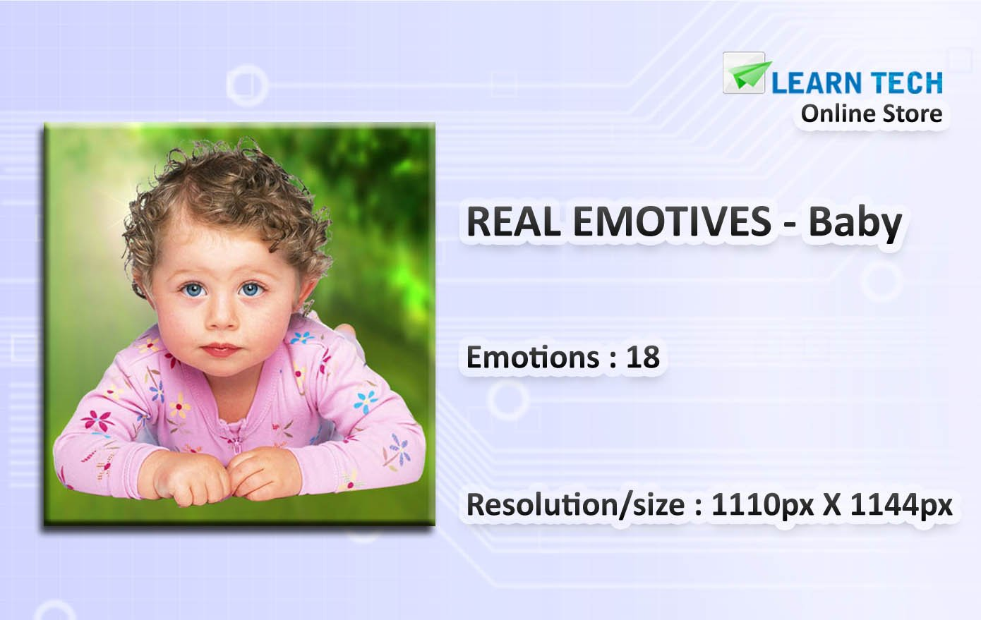 Baby-Character emotions for training decks-PowerPoint-E learning solutions