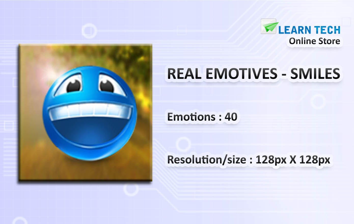 Real Emotive Smiles | Character Poses for Training decks