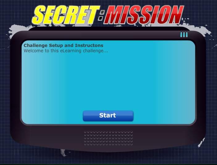 Secret Mission - Learning Games - Training Games
