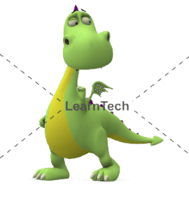 Character Poses – Dragon_See left | Online Store | LearnTech