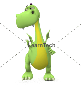 Character Poses – Dragon_See right-hi | Online Store | LearnTech