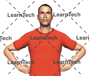 Character Poses –Simon_Angry | Online Store | LearnTech