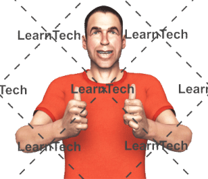 Character Poses –Simon_Thumbsup_Bothhands | Online Store | LearnTech