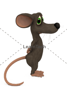Character Poses – Mouse_Standing Profile | Online Store | LearnTech