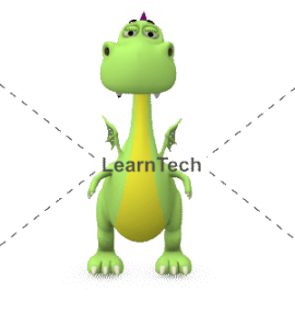 Character Poses – Dragon_Standing Front | Online Store | LearnTech