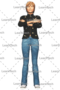 LearnTech - Character Poses – Sydney_Standing_hend_bend