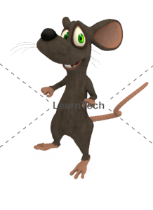 Character Poses – Mouse_Surprosed | Online Store | LearnTech