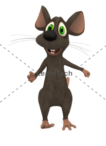 Character Poses – Mouse_Talking | Online Store | LearnTech