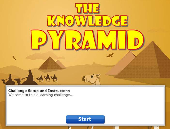 Pyramid Game - Learning Games - Training Games