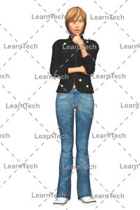 LearnTech - Character Poses – Sydney_Thinking