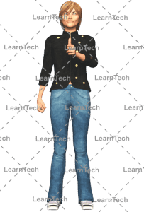 LearnTech - Character Poses – Sydney_Tumbsup