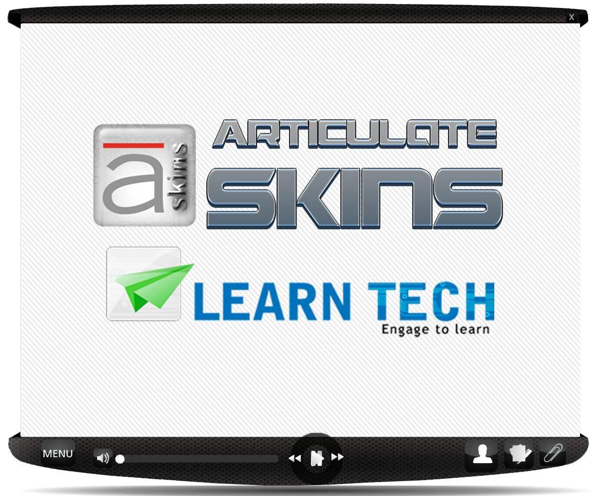 Articulate Skin : Metal Series - Custom Articulate Presenter Skin