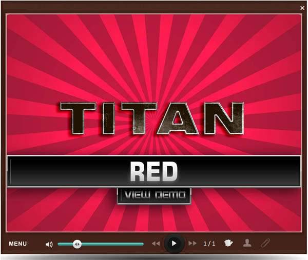 Custom Articulate Presenter Skins : Titan - Articulate skins widgets 2021