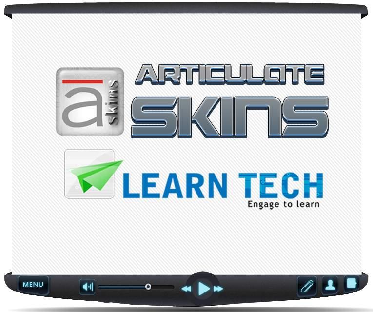 Articulate Skin : Tron Series - Custom Articulate Presenter Skins