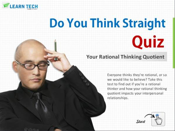 LearnTech – Digital Assessments - Do You Think Straight Quiz
