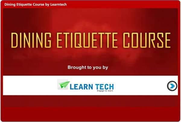 Online Psychometric Assessment / Dining Etiquette Course