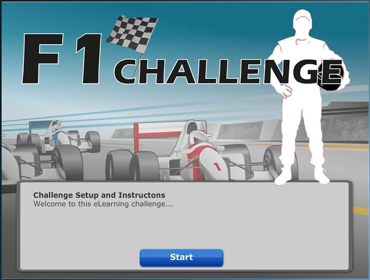 F1 Challenge - Learning Games - online E learning Games