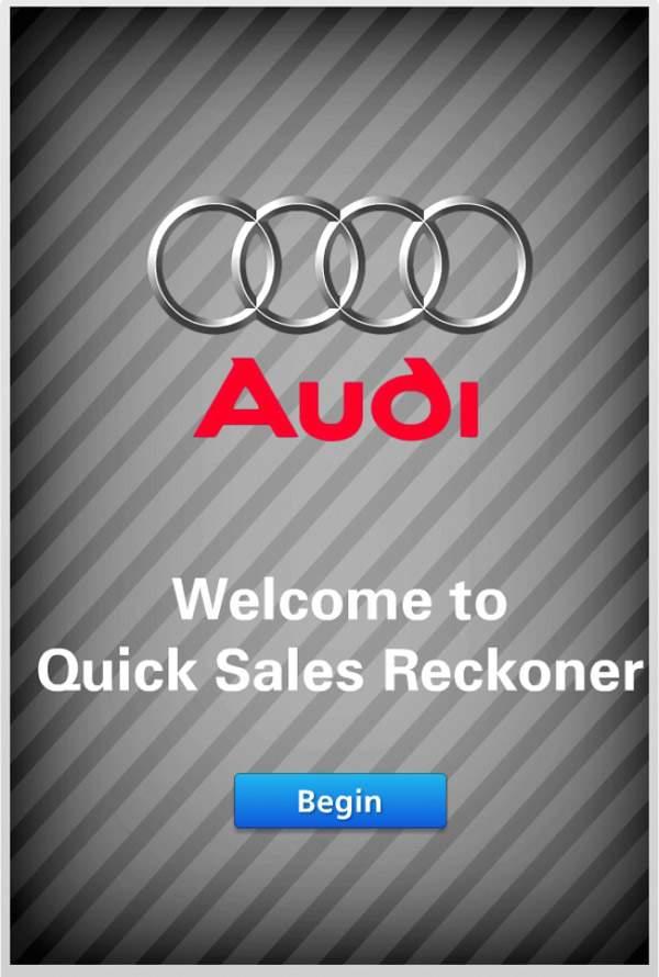 Audi Mobile App | E-learning Examples | E learning demos