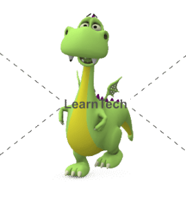 Character Poses – Dragon_Happy Walk | Online Store | LearnTech
